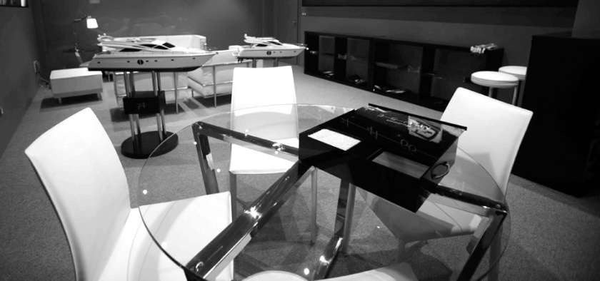 Rodman Muse Showroom at Rodman Headquarters. Furniture and Ambient Design.